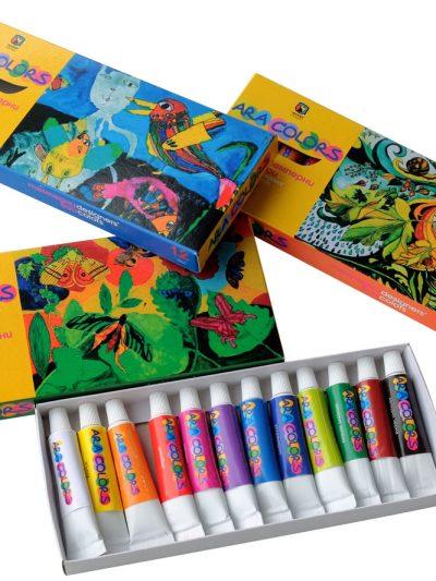 Темперни бои Араколорс 12 цвята